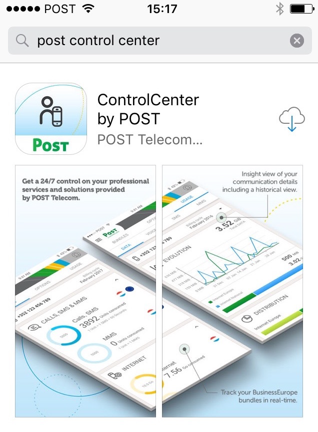 controlcenter-application mobile