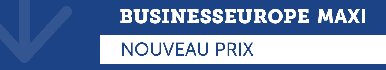 POST - Business Europe MAXI - Baisse de prix