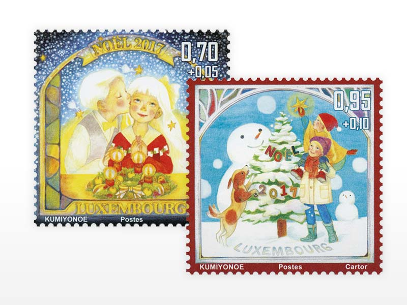 POST - Philately Série spéciale Noël 2017