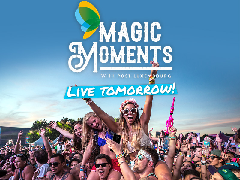 Magic Moments - Live Tomorrow